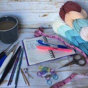 Tools for crochet pattern tetser