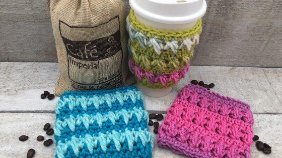 Wilhelmina Cup Cozy Free Crochet Pattern