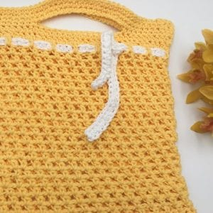 Sunday Market Bag Free Crochet Pattern