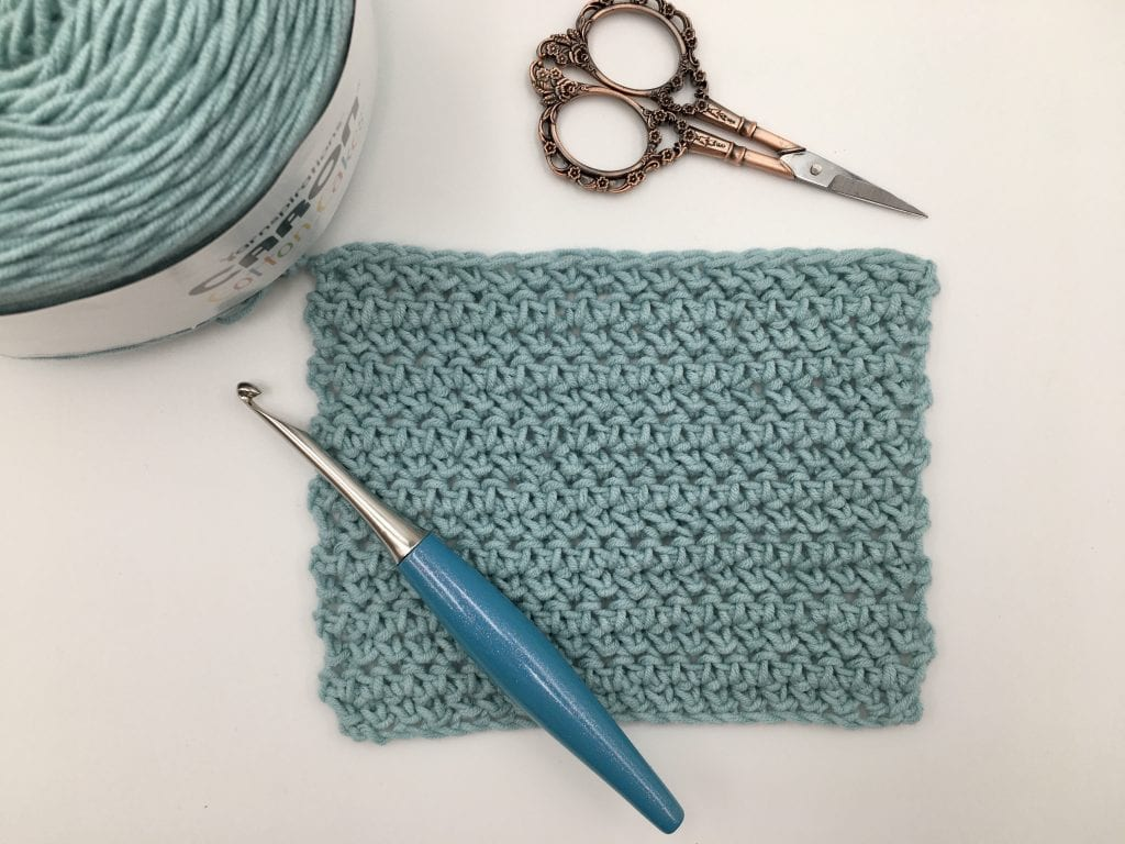 How To Herringbone Half Double Crochet. A photo stitch tutorial.