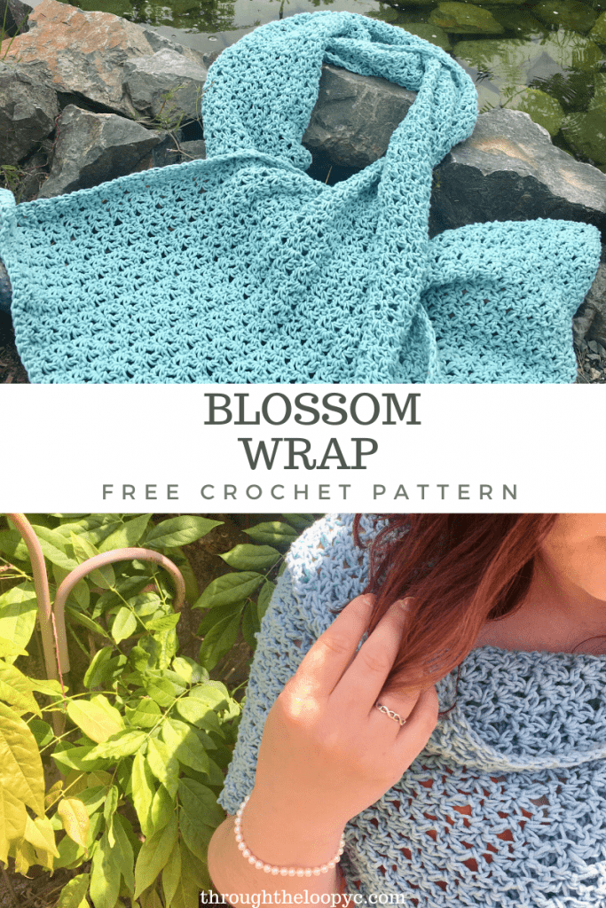 The Blossom Wrap Free Crochet Pattern