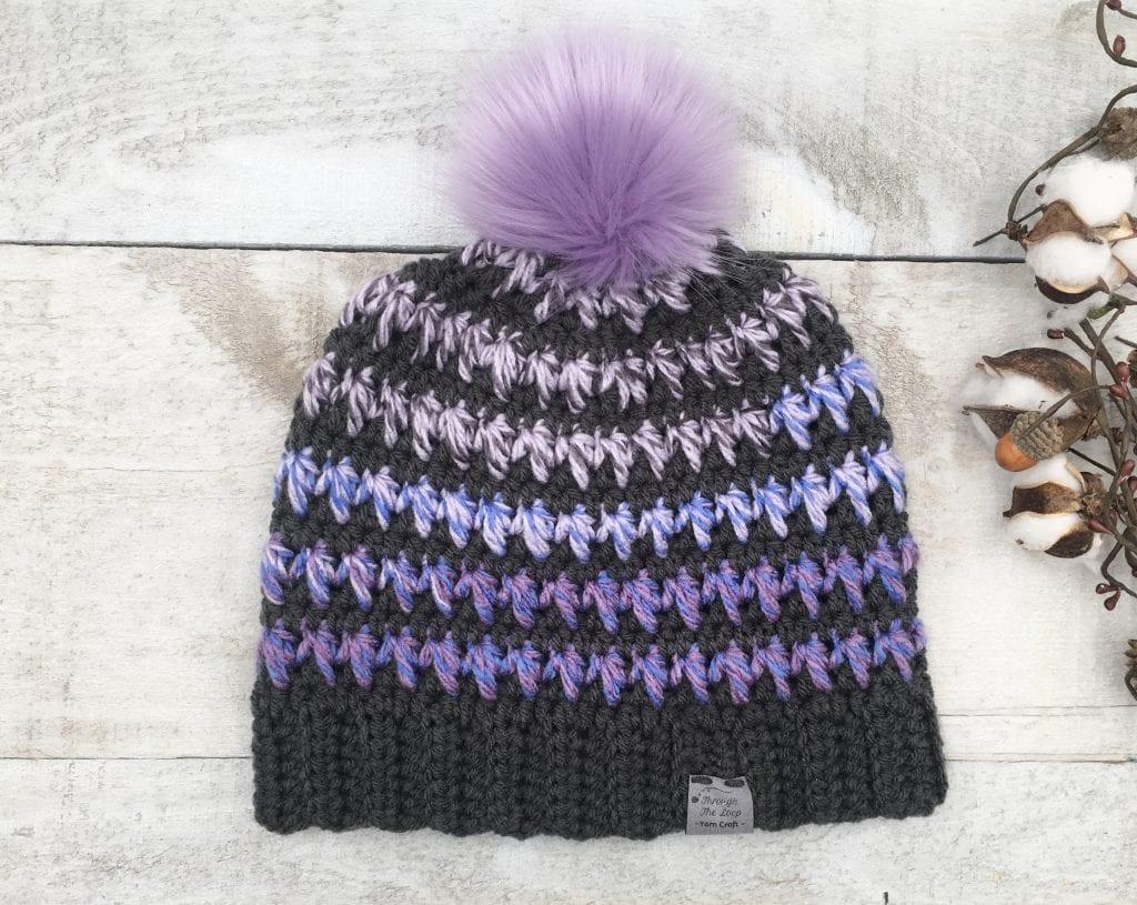 Wilhelmina Beanie Free Crochet Pattern