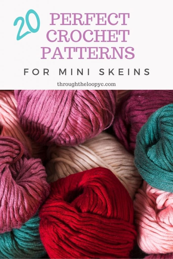 20 Perfect Crochet Patterns For Mini Skeins