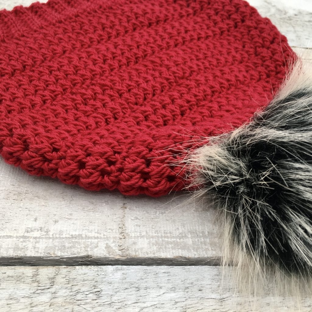 Whims Mommy and Me Beanie Set Free Crochet Pattern Featuring Furls Whims Merino yarn