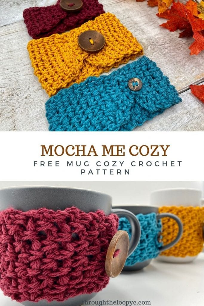 Mocha Me Cozy Mug Cozy Free Crochet Pattern