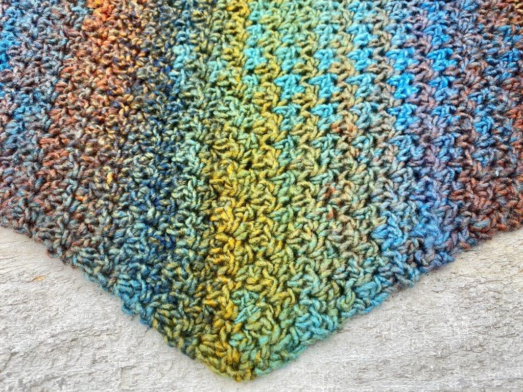 Meridale Triangle Scarf  Crochet Pattern