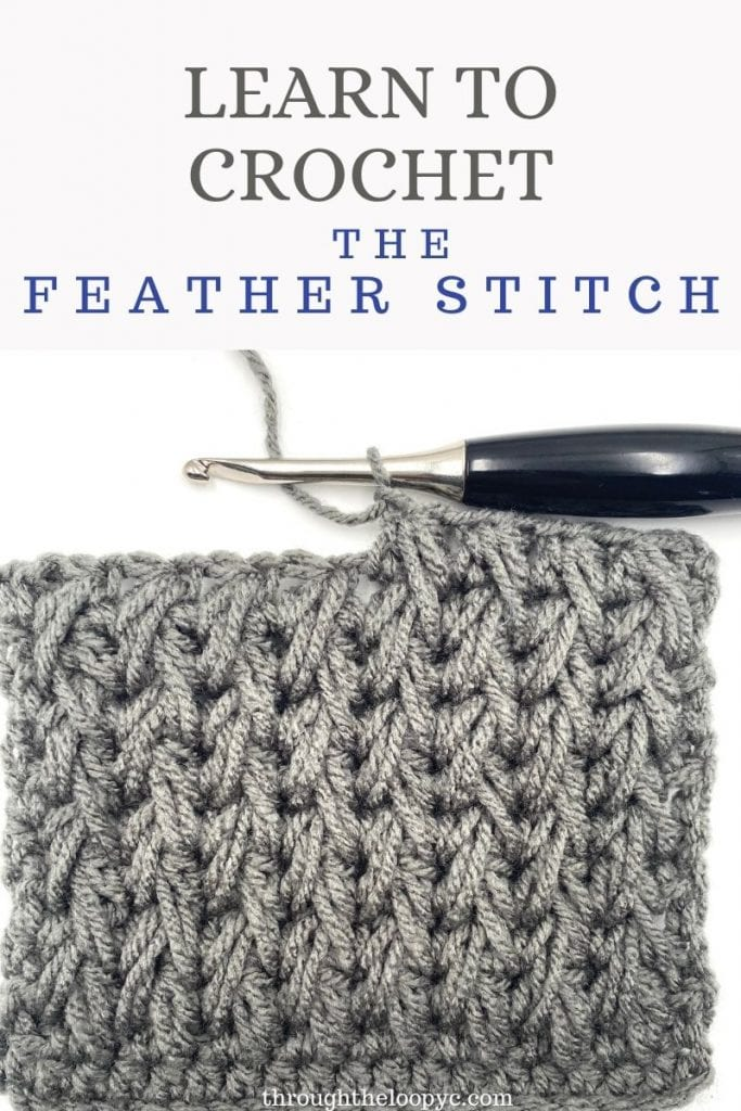 Learn To Crochet The Feather Stitch