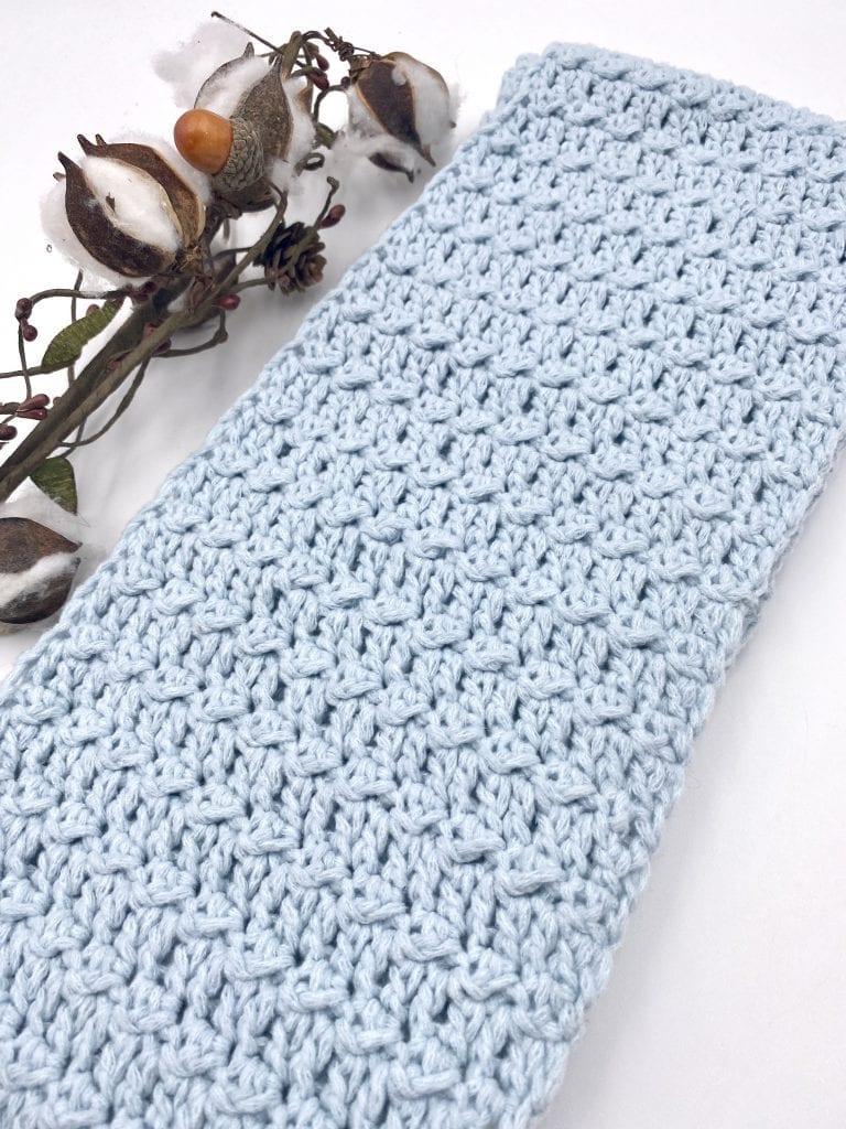 Crystalline Infinity Scarf Free Crochet Pattern