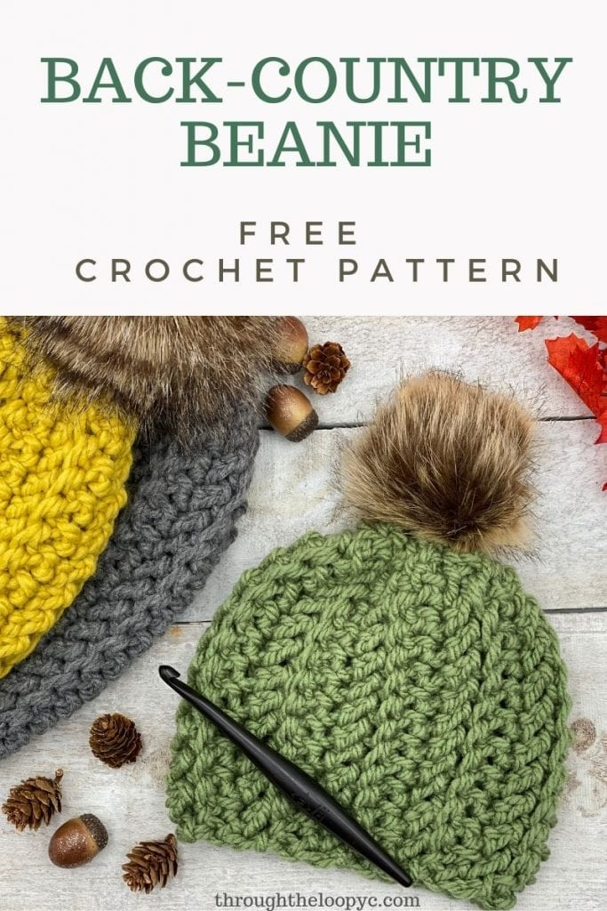 Back-Country Beanie Free Crochet Pattern