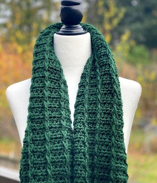 Fairbrook Scarf Free Crochet Pattern