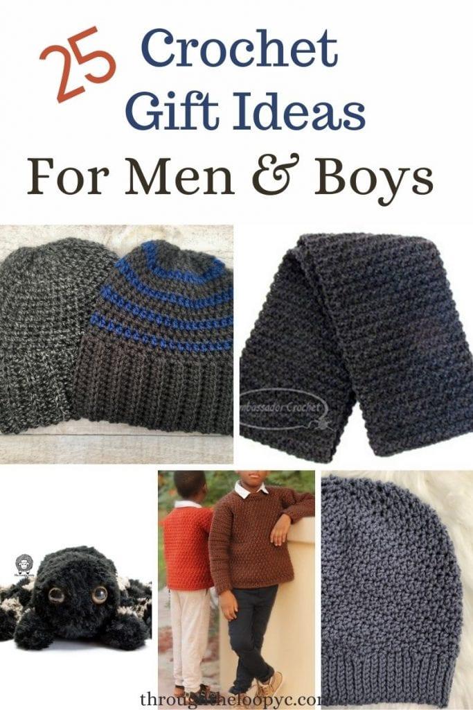 Crochet Gift Ideas for Men and Boys
