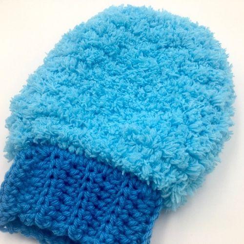 Dust It Off Dust Mitt Free Crochet Pattern