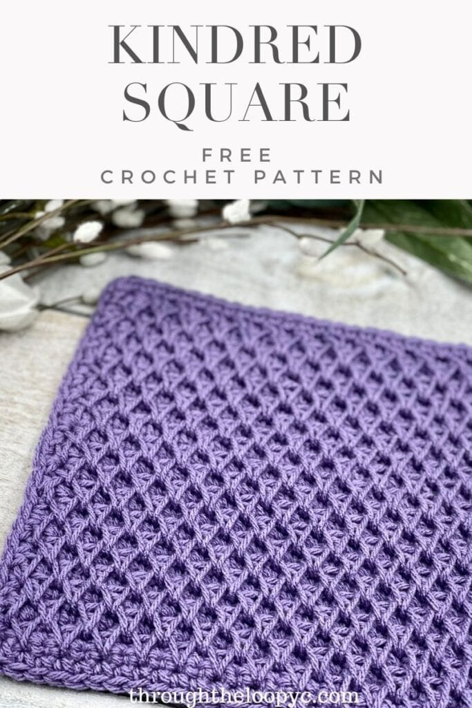 Kindred Square Free Crochet pattern and Tutorial