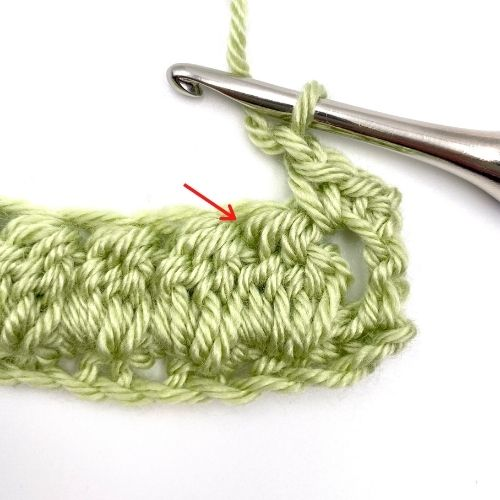 Learn the Double Crochet Cluster Stitch with this Picture and video tutorial