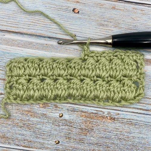Learn The Double Crochet Cluster Stitch
