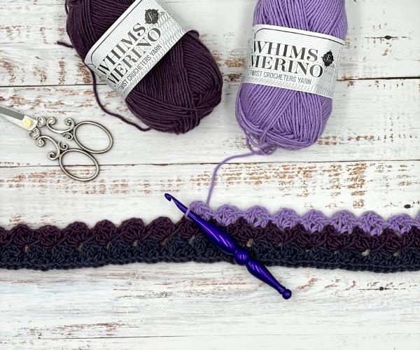 Ivy Lane Infinity Scarf Free Crochet Pattern