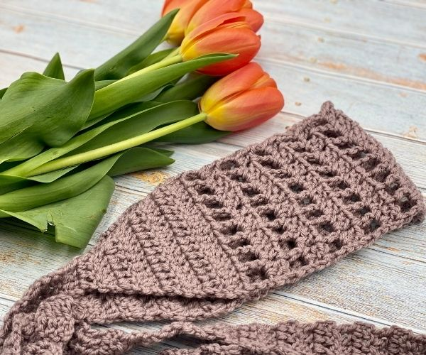 Whimsy Head Wrap Free Pattern and Video Tutorial