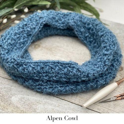 Alpen Cowl Crochet Pattern