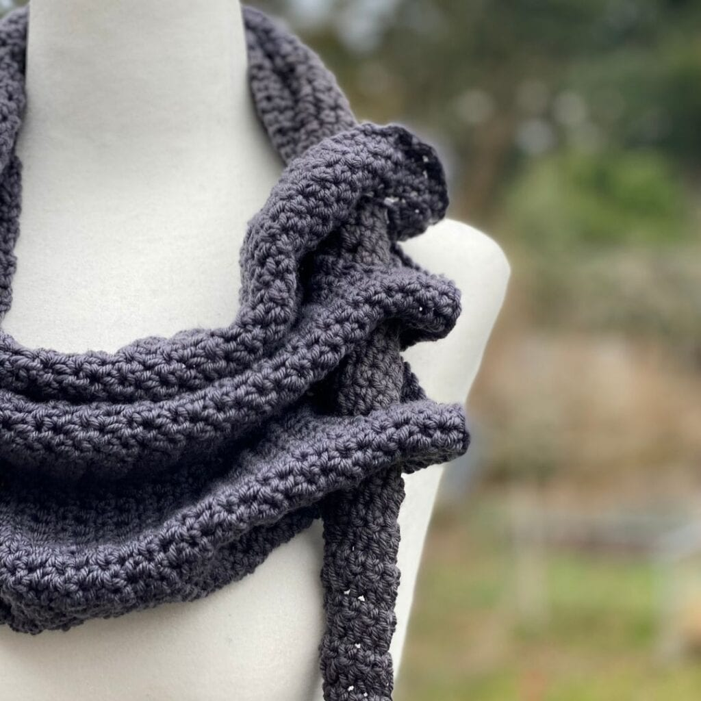 Through The Loop Scarf Crochet Pattern