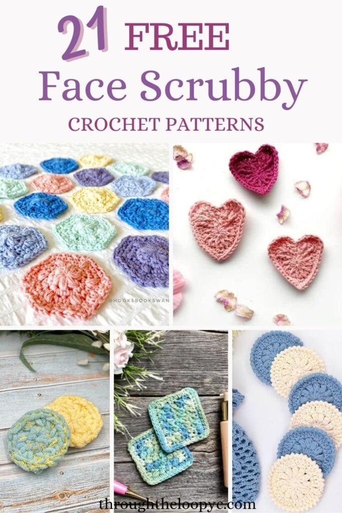 21 Free Face Scrubby Crochet Patterns