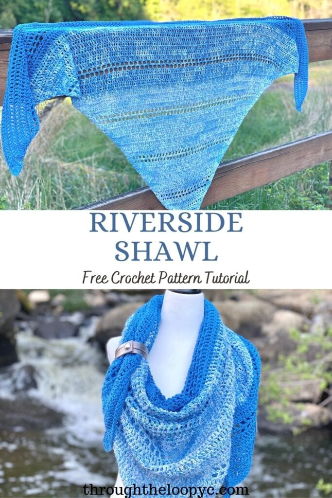 The Riverside Shawl Free Crochet Pattern