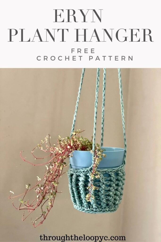 Eryn Plant Hanger Free Crochet Pattern