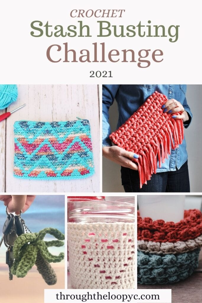 Crochet Stash Busting Challenge 2021