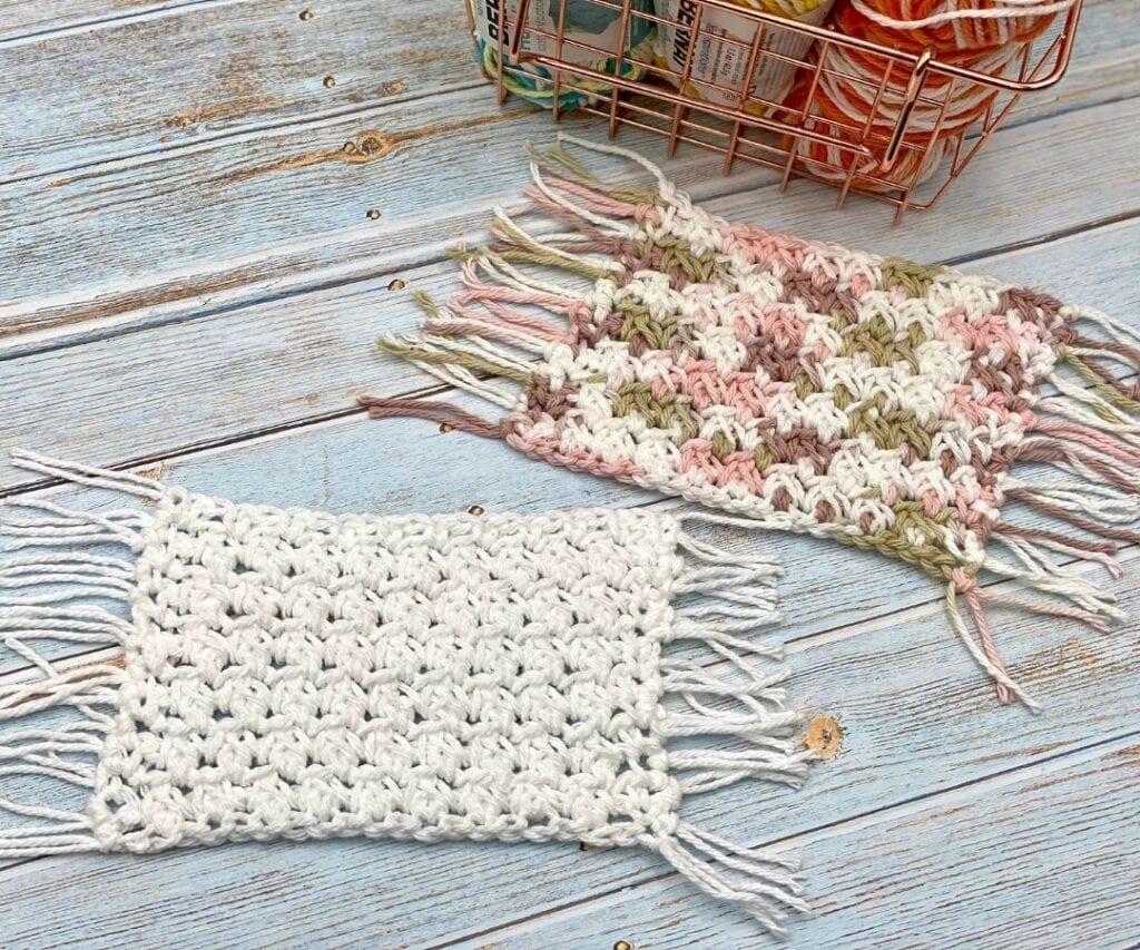 Caia Mug Rug Free Crochet pattern