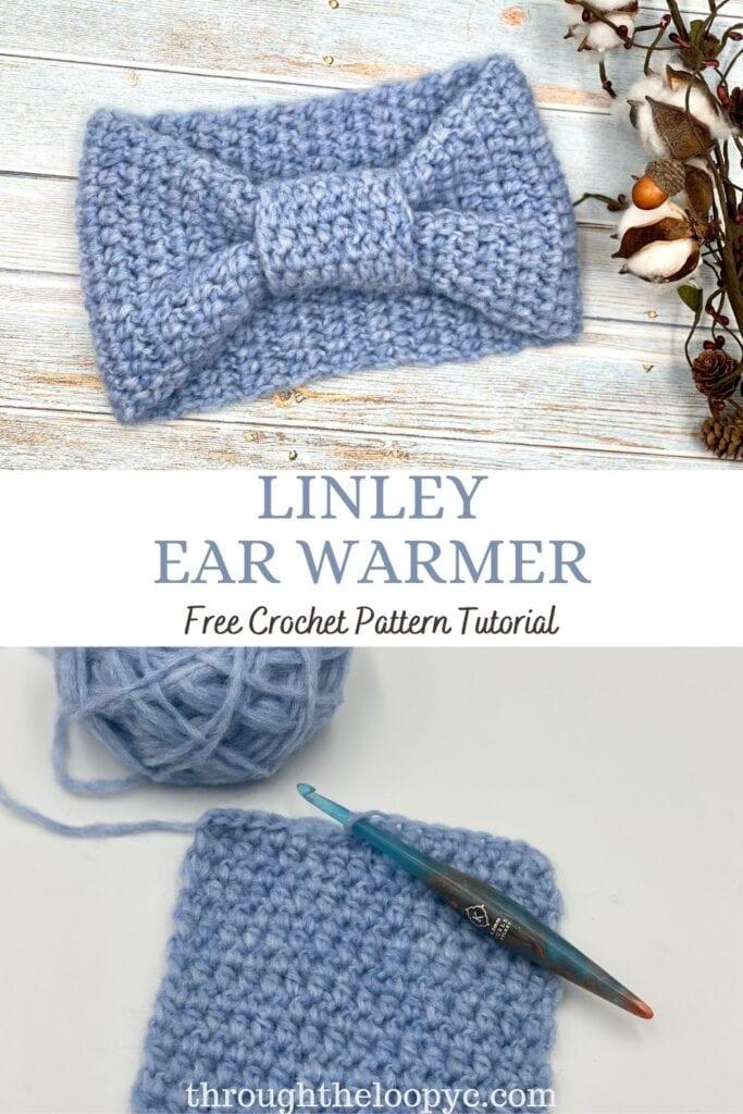 Linley Ear Warmer Free Crochet Pattern