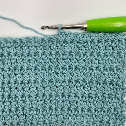 Learn the Extended Single Crochet Stitch Photo Tutorial.