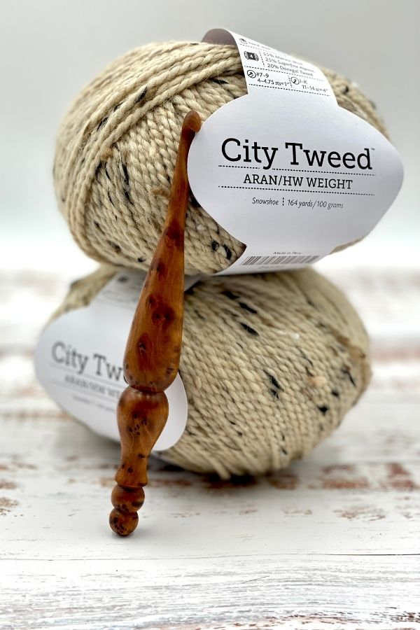 Galloway Fingerless Gloves Free Crochet Pattern and Tutorial