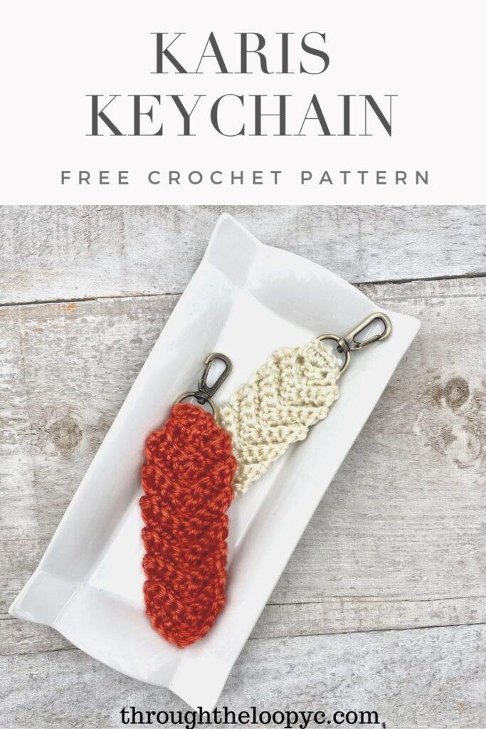 Karis Keychain Free Crochet Pattern and Video Tutorial