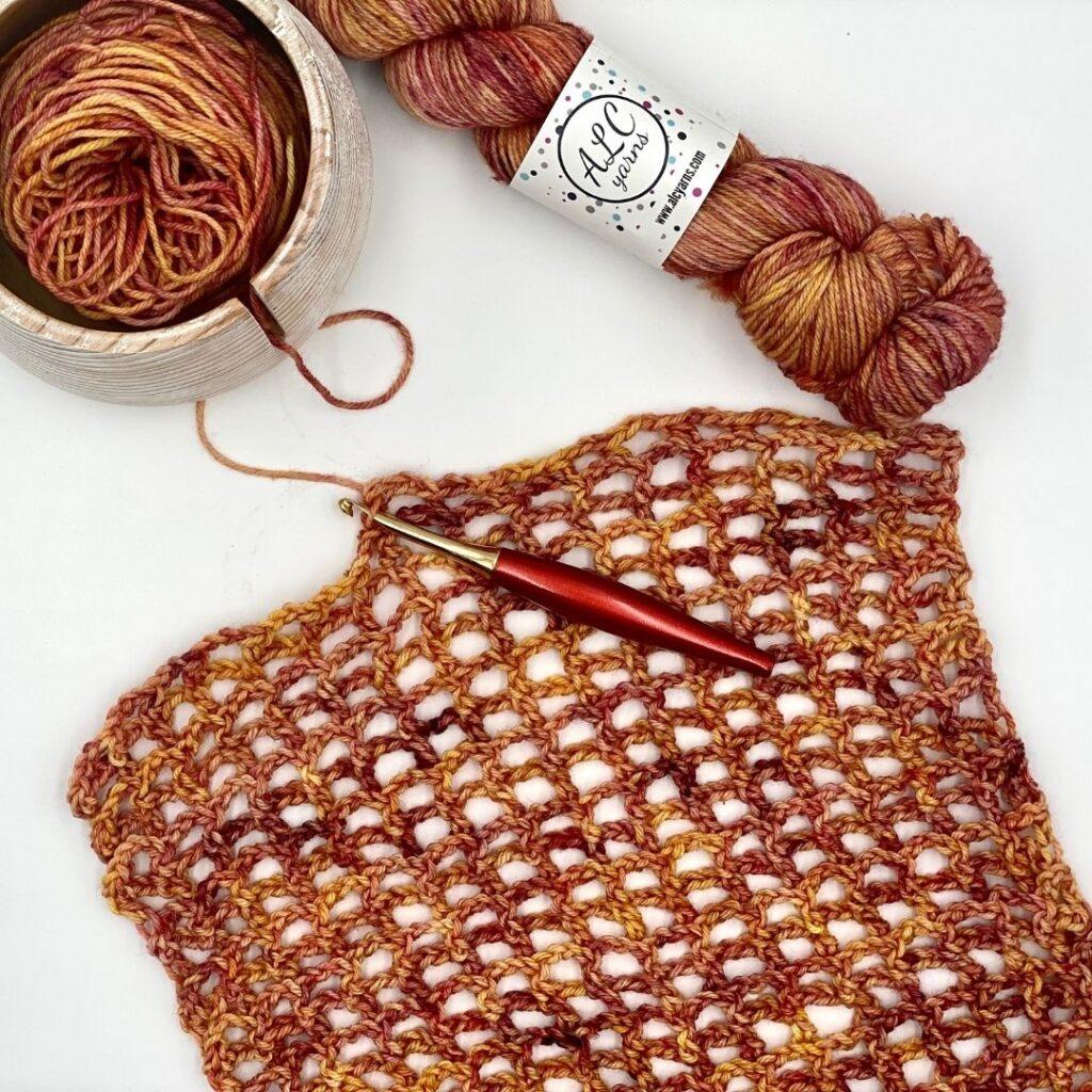 Irelyn Wrap Free Crochet Pattern -  WIP