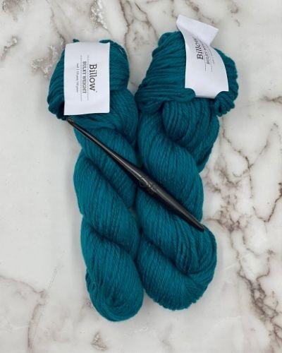 Billow yarn and Streamline Crochet hook