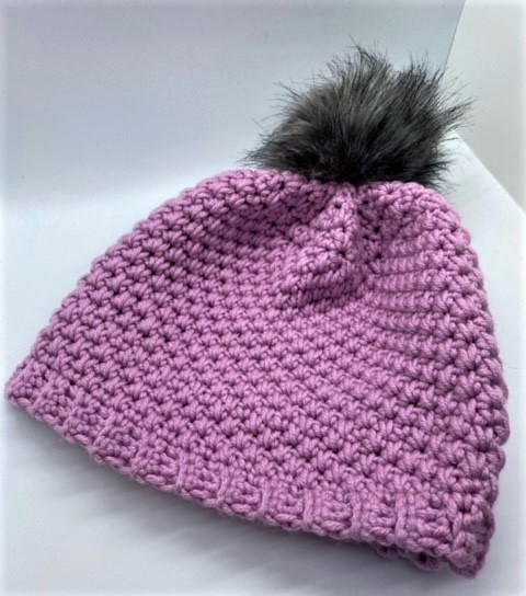 Louka Beanie Free Crochet Pattern -  Crochet Chemo Hat